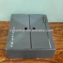 fashion paper shoe box pattern design and printing