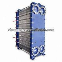 plate copper fin copper tube heat exchanger graphite block