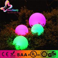 outdoor garden led glowing ball lamp/ grass lighting ball/led illuminated sphere, led floating ball