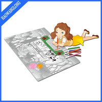 Multipurpose Toy and Paper Material Child Safety Drawing Toys with color pen