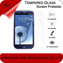 Premium Real Tempered Glass color screen protector for samsung galaxy s3 s4 s5 s6 mini i9300 9500 9600 g9200