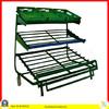 Wal-mart 3 layers moving supermarket fruit rack vegetable shelf