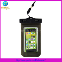 pvc waterproof cell phone bag waterproof case for iphone 5/5s