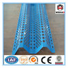 Windproof Perforated Mesh Fence / Perforated Anti Wind Dust Fence /double peaks wind dust fence
