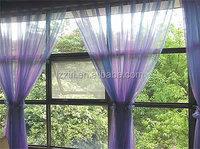 Aluminum Casement Window with wooden color/Beautiful Aluminum Casement Window For House