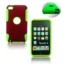 for Apple ipod touch 4 pc silicon case