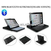 2013 newest bluetooth silicone for ipad keyboard(NT-EI011)