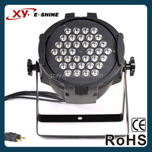 Mini led light 8 channel 36pcs 3W led par 64 light