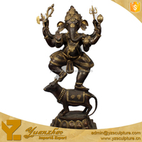 Brass Lord Ganesh Statue for Home Decor BFSN-C095A