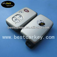 Hot Sale 3+1 buttons remote control case for toyota camry key cover toyota key fob case