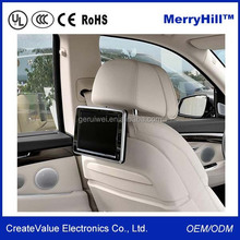 Universal Mount Electronics 7/ 8/ 9/ 10.1/ 10.4/ 12 inch Headrest Car LCD Monitor With SD Card