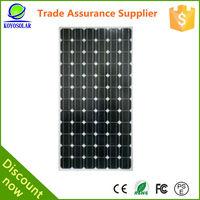 100W/200W/250W/300W310W China Best Mono/Poly Solar Panel pv solar module crystalline solar energy CERTIFY