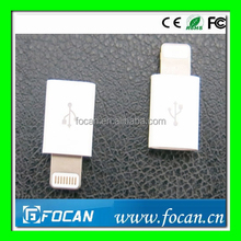 Newest MFi switching adapter MFi conventer & MFi certified 2 in 1 8pin to mirco usb adapter for ipod, iphone, ipad