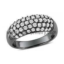moda 925 anillos de plata al por mayor