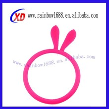 New Creative Soft Silicone Bracelet Universal Cell Phone case Rubber Hair Band for Phone case