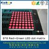 shenzhen factory p7.62mm high bright dot matrix high quality diy le, rgb dot matrix led moving sign