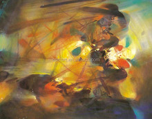 Cheapest Price High Quality Dafen Wholesale Print Abstract Oil Picture on Canvas, Wall Painting for Decoration