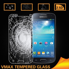 Vmax phone accessories free sample 0.33mm anti shock tempered glass for samsung galaxy S4 mini tempered glass screen protector