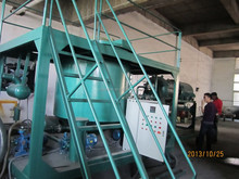 Waste Motor Oil Recycle Machine, Black Engine oil Refine system