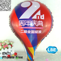 custom logo printing hot air balloon sale