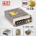 oem swtching led de fuente de alimentación 35w 24v dc fuente de alimentación