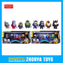 New design 3 inch Optimus Prime transform toys bumblebee craft minions action figure minions minifigure