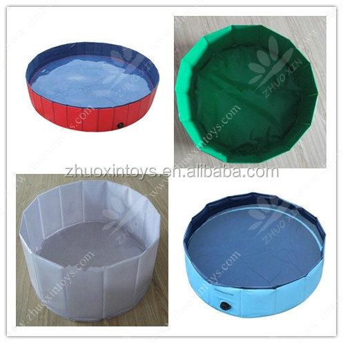 haute qualit pliable en plastique chien piscine diff rente taille et le style personnalis. Black Bedroom Furniture Sets. Home Design Ideas