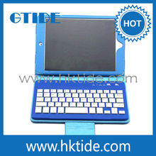 tablet pc leather case wireless bluetooth keyboard for 8 inch