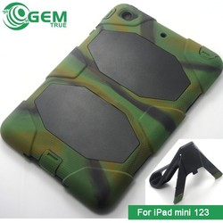 Army Green Strong Shockproof Case Cover Stand for iPad 123