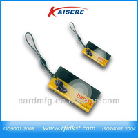 125khz,13.56Mhz Epoxy mini Rfid Business Cards for time attendance system