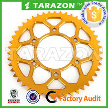 Chinese Alibaba Audited Factory Motorcycle Chain Sprocket for Yamaha