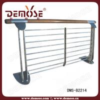 outdoor wood railing/balcony railing wood/wood railing