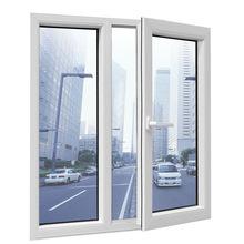 U pvc profiles top hung open inside casement window with handles