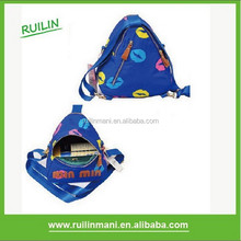 New Nylon Cute Triangle Kids Bakcpack