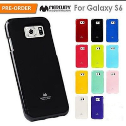 Wholesale Cell Phone Accessories,Mercury Goospery TPU Soft Jelly Phone Case,For Samsung Galaxy S6 Case