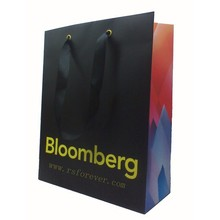 Apparel shopper paper bag,shopping paper bag,printed paper bag