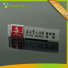 name plate card brand name memory card high quaility name card