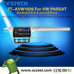 ZESTECH Android 4.4.4 10.2 inch Car dvd player For VW PASSAT Capacitive Touch Screen with A9 Chipset GPS Navigation System