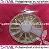 2015 hot sell fashionable nail art accessory/ nail gold sheet wholesale