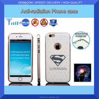 different pattern plastic back cover with anti radiation for mobile cell phone cover