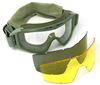 Anti-fog,anti-scratch military goggles army goggles China factory