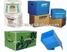 strong plastic corrugated box