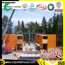 big area habitable shipping house container for exhibition
