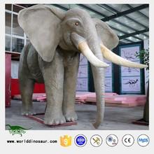 Hot Mechanical Animal Game Elephant Statue