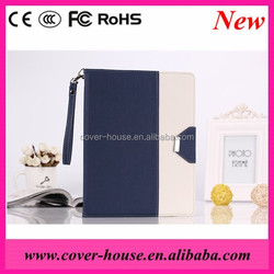 Shenzhen Factory price Luxury Roate Tablet PU leather Cover case for iPad Air 2