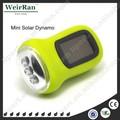 (110004) dynamo portátil de mano- la manivela de la lámpara linterna solar