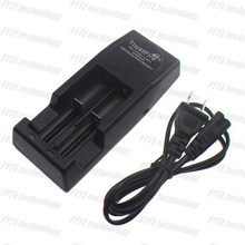 TrustFireTR-001Universal Rechargeable Li-ion E-cig Battery Charger/TrustFireTR-001two batteries charging in parallel the charger