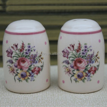 new design bride and groom ceramic salt and pepper shaker