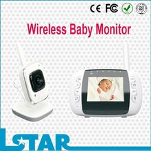 Digital video baby monitor,Hot !!! Lovely factory supply best video baby monitor uk With night vision