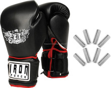 IRON Boxing Power Weighted Super Bag Gloves